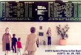 1973 - National Airlines Sundrome terminal Flight Information Display System at JFK