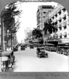 1926 - looking down Flagler Street, downtown Miami