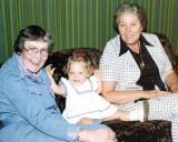 1977 - Aunt Beatrice, Karen D. and Aunt Norma