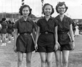 Gym uniforms for girls were fairly ugly