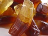 Wax Coke bottles with sugar water inside
