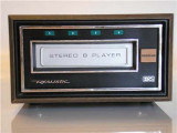 8-track stereo tape players