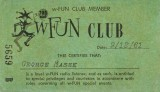 1961 - WFUN Club 790 AM card