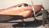Early 1940's - a Langley Twin, NX29099, built in 1940 and made of plastic-bonded Mahogany at Miami Municipal Airport