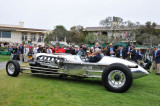 In driving up the hill, Jay Leno used only a small fraction of his 1953 Chrysler Tank Car's 1,600 horsepower. (st)