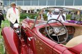 1934 Packard 1108 Sport Phaeton, finalist for Best of Show award