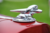 Hood ornament of 1934 Packard 1108 Sport Phaeton from the Nethercutt Collection