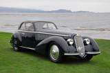 1938 Alfa Romeo 8C 2900B, Best of Show 2008 Pebble Beach Concours, 2009 Concorso Villa d'Este, 2012 Windsor Castle Concours