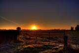 Sunrise And Gate