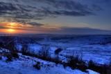 Hole Of Horcum Sunset