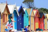 A sunday at Brighton Beach