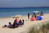 A beach for families