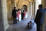 Saturday's weddings