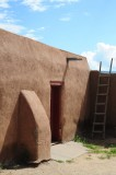 Taos Pueblo Red Door