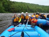 White Water Rafting: Dead River, 6/5/2010