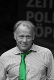 The politician Jürgen Trittin (Green Party) in Bonn (Germany)