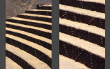 Pisac - steps between terraces