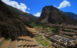 Impressive Ollantaytambo and Patakancha river valley