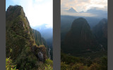 On the trip to Waynapicchu summit (alt. 2634m)