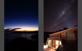 Titicaca Lake after sunset  |  Incredibly clean Milky Way