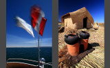 Trip to Uros, floating islands near Puno
