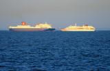 Ferries in 'n out :)