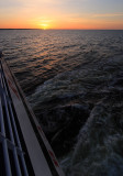 Sunset over Baltic