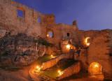 Night on Spissky castle