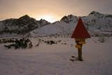 Sunset at Biele pleso (White Lake)