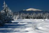 Snowy day at Velka Knola