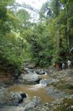 The trek to Argyle Waterfall