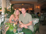 Back at the Coco Reef - Boog and Aimee