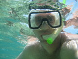 Self Portrait - Snorkeling at Coco Reef
