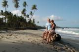 Boog and Aimee - A beach in Trinidad