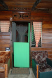 Door to my room at Mt. Plaisir - Room 2