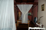Mosquito nets - no A/C here...Mt. Plaisir - Room 2