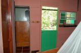 The bathroom door and the back door - Mt. Plaisir - Room 2