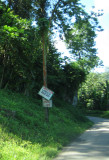 Driving back from Mt. Plaisir - Highway - Landslip