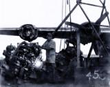 B-24 engine swap