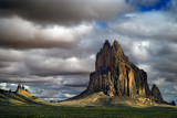 Shiprock and other Monoliths in the Desert
