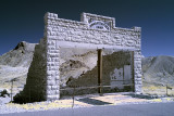 Ghost town of Rhyolite, Nevada. Just outside of Death Valley NP.