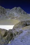 Looking up at Little Ubehebe peak.