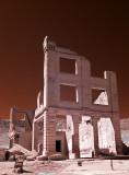 Rhyolite ghost town.