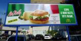 Juxtapose Hamburger - McItaly versus McUSA