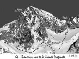 061 Balaitous, la Grande Diagonale (122) et Brèche Latour (129)
