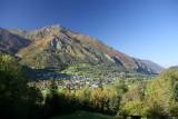 Laruns et le Rocher des Cinq Monts