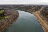 The North Saskatchewan River