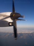 Dash-8 over Spain