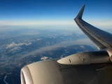 Overflying Iran with a view