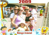 girls' day at king's island
